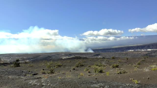 Kilauea Volcano - Volcanoes National Park, Hawaii video