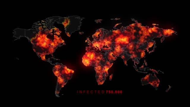 killer virus spreads to worldwide - covid 19 stock videos & royalty-free footage
