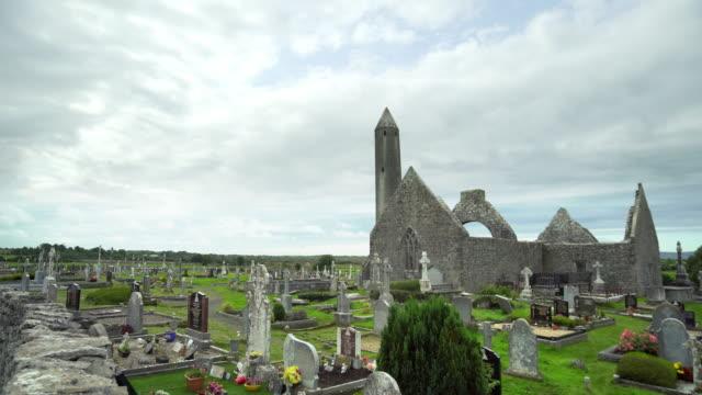Kilmacduagh Monastery In County Galway video