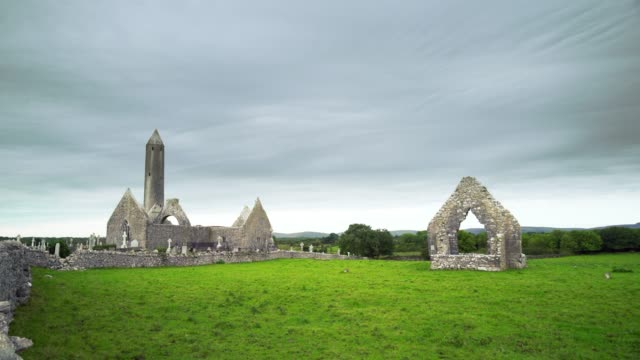 T/L Kilmacduagh Monastery In County Galway video