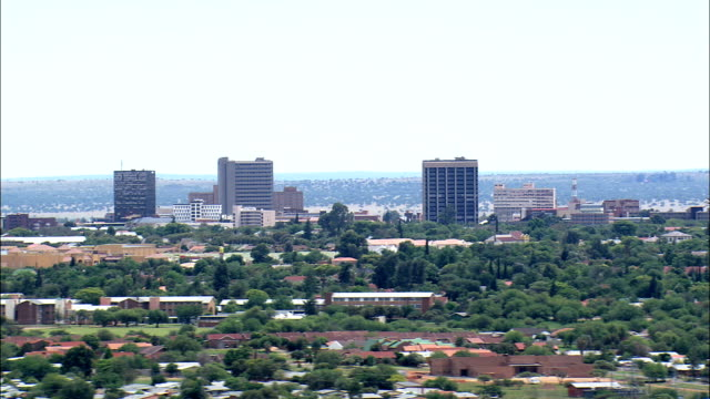 Kimberley  - Aerial View - Northern Cape,  Frances Baard District Municipality,  Sol Plaatjie,  South Africa video