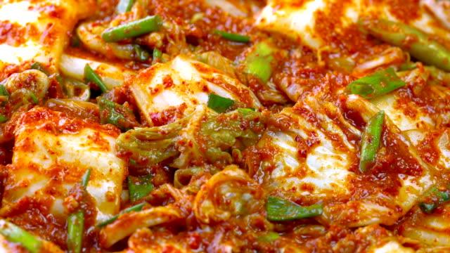 vídeos y material grabado en eventos de stock de kimchi - pak choy