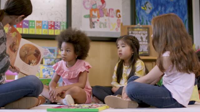 Video Kindergarten Students in Daycare