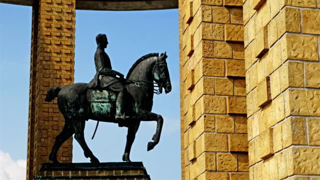 King Albert I of Belgium westfront memorial video