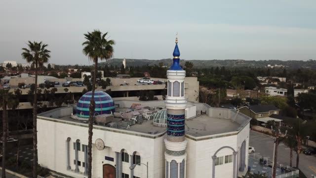 king fahad-moskén flygutsikt - moské bildbanksvideor och videomaterial från bakom kulisserna