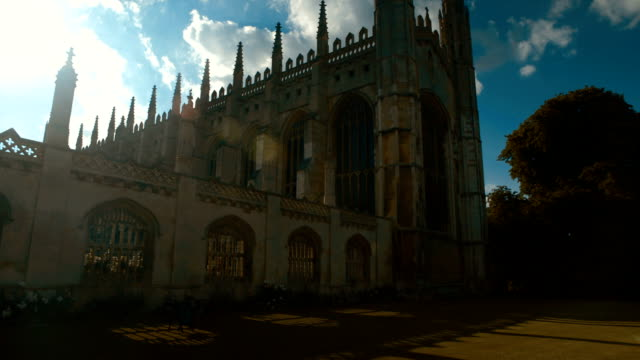Kings College and University in Cambridge, England, UK video