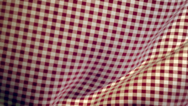 Kitchen Table Cloth Falling onto Flat Surface Transition HD, SD video