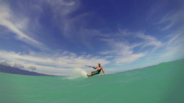 Kite Boarding, Extreme Summer Sport HD video