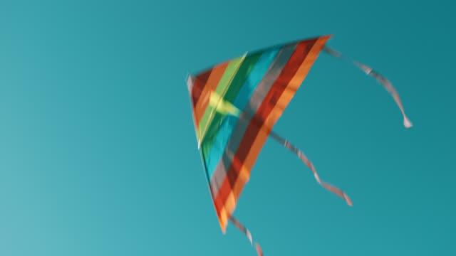 drakflygning på himlen - rörlig aktivitet bildbanksvideor och videomaterial från bakom kulisserna