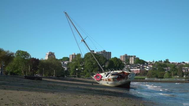 Kitsilano Beach Storm, Vancouver 4K UHD video