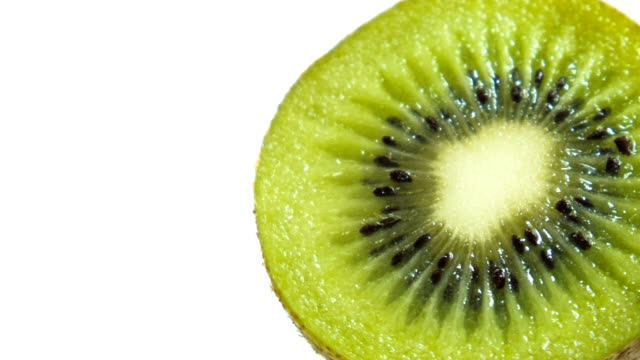 kiwi isolerad på vit bakgrund - kiwifrukt bildbanksvideor och videomaterial från bakom kulisserna