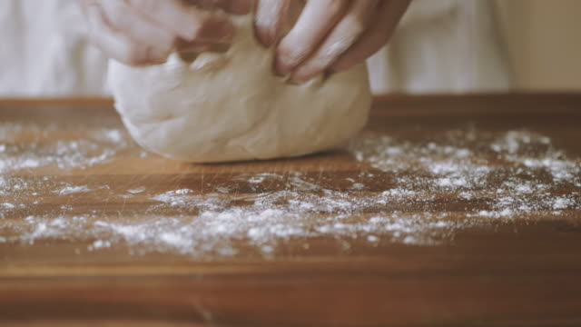 kneading dough video