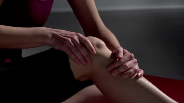 knee pain - chiropractor stock videos and b-roll footage