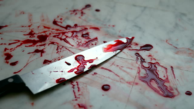 Knife With Blood On The Floor video