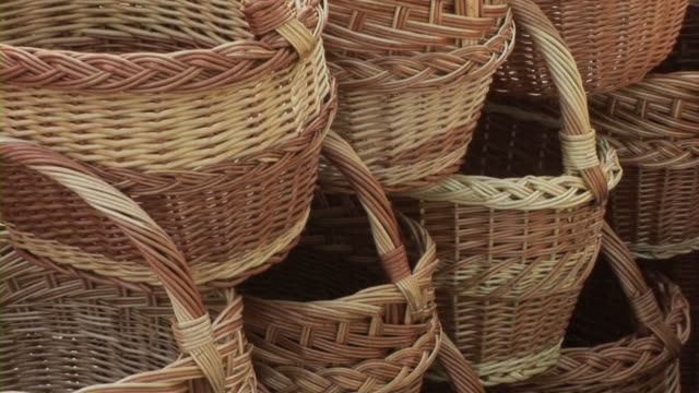 knitl バスケット - 籠点の映像素材/bロール
