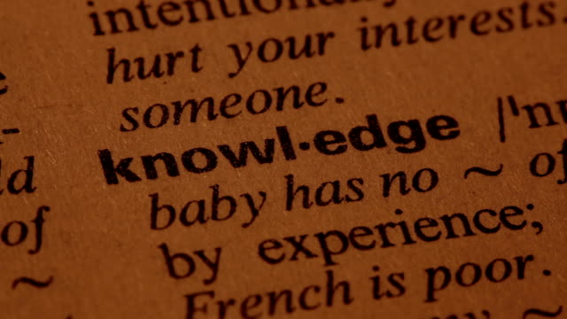 Knowledge video