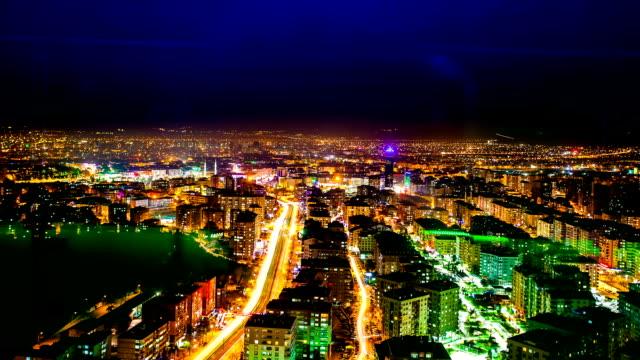 konya city scene - sci freestyle video stock e b–roll