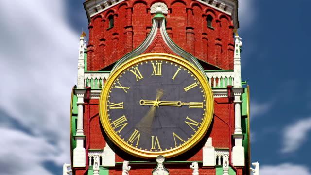 Kremlin clock video