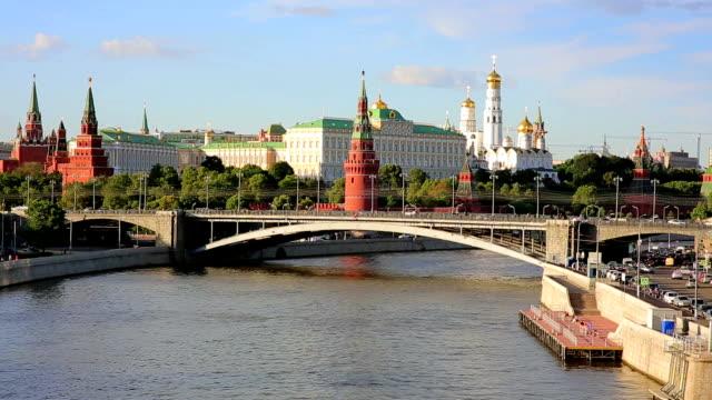 kremlin palace, moskva, ryssland - vasilijkatedralen bildbanksvideor och videomaterial från bakom kulisserna