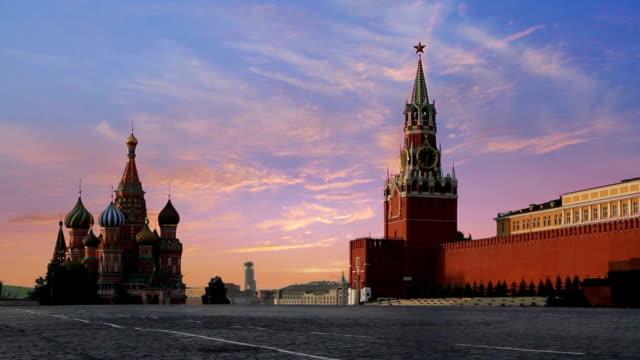kremlin red square - kreml bildbanksvideor och videomaterial från bakom kulisserna