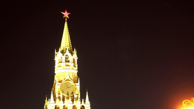 Kremlin Spassky Tower video