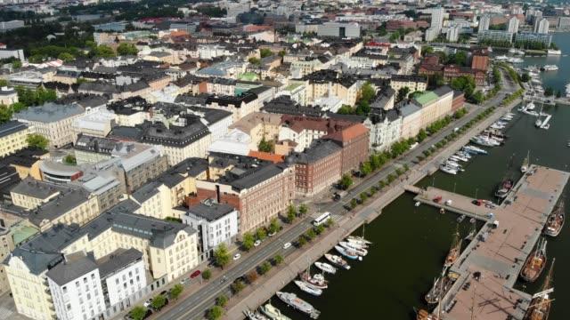 kronohagen stadsdel i helsingfors - drone helsinki bildbanksvideor och videomaterial från bakom kulisserna