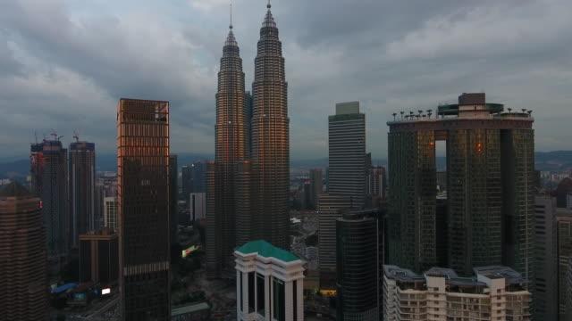 Kuala Lumpur view from drone