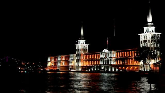 HD: Kuleli military high school, Istanbul **Time Lapse** video