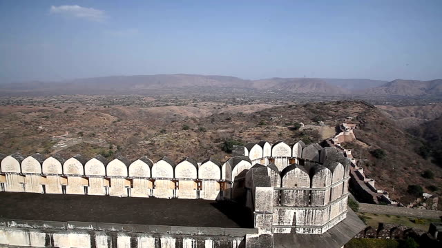 Kumbhalgarh Fort. Rajasthan. India video