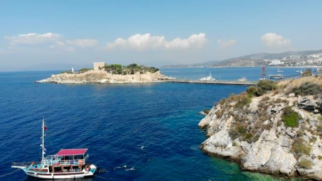 kusadasi. - egeiska havet bildbanksvideor och videomaterial från bakom kulisserna