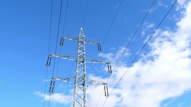 110 kV aço lattice Power pilão - vídeo