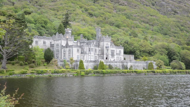 Kylemore Abbey in Ireland video