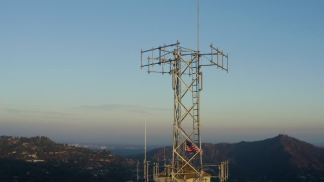 La Canada Cell Tower - Drone Video 360 view