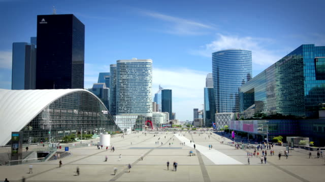 La defense, Paris video