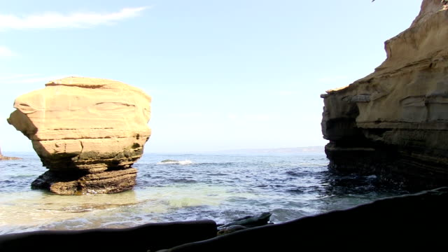 La Jolla California Seal Cove video