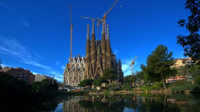 La Sagrada Familia Day Time Lapse video