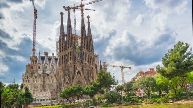 La Sagrada Familia time lapse video