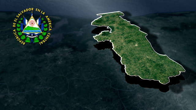 La Union with Coat Of Arms Animation Map