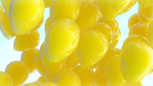 vídeos y material grabado en eventos de stock de día del trabajador ballons - día del trabajo