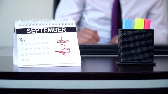 vídeos y material grabado en eventos de stock de día del trabajo de estados unidos - días especiales - día del trabajo