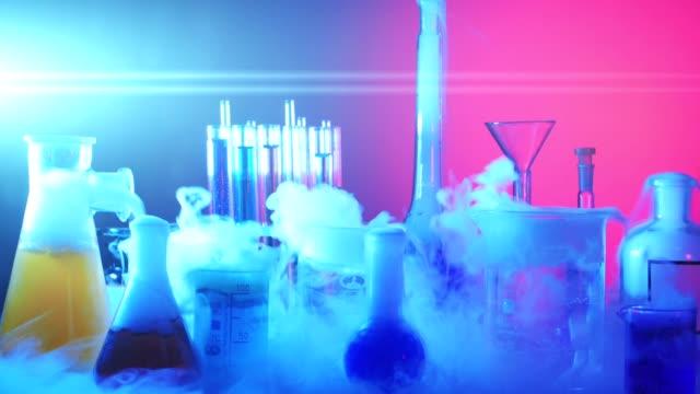 Laboratory Equipment. Laboratory Experiment video
