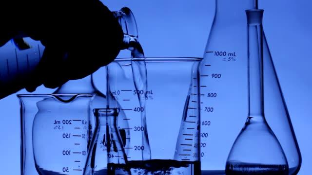 Laboratory glassware video