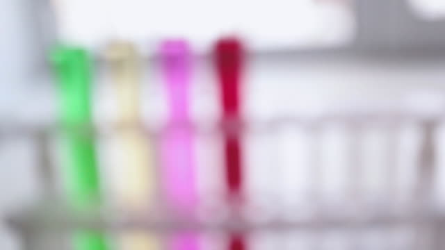 Laboratory tube is used by scientists and students for analysis and study in chemical laboratories. video