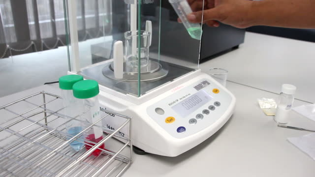 Laboratory Weighing Solution video