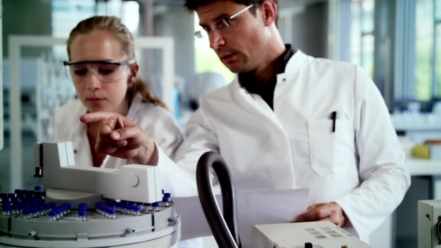 Laboratory work video