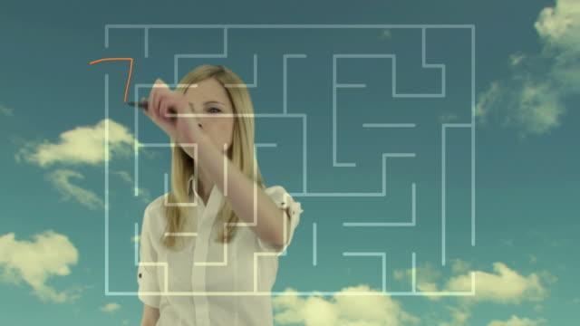 Labyrinth video