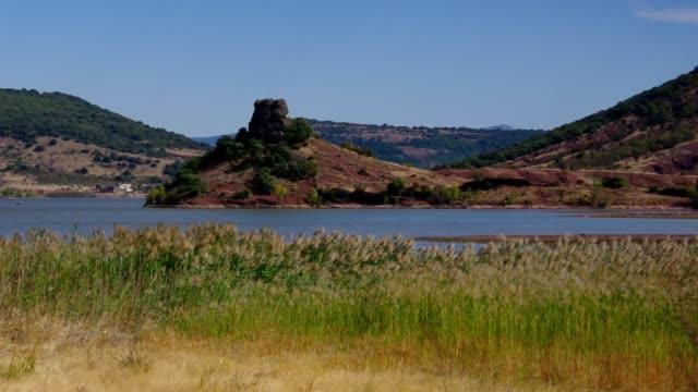 Lac du Salagou in France, Languedoc-Roussillon video