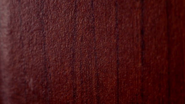 Lacquered wood dolly camera macro video video