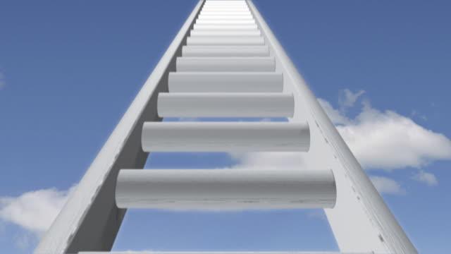 Ladder 01 White Sky Loop video