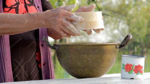 Lady Farmer Make Bread video